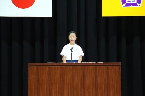 H26 09 夏休み明け集会