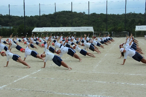 H26 09 組み立て体操