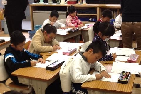 H26 12 1年生国語の学習