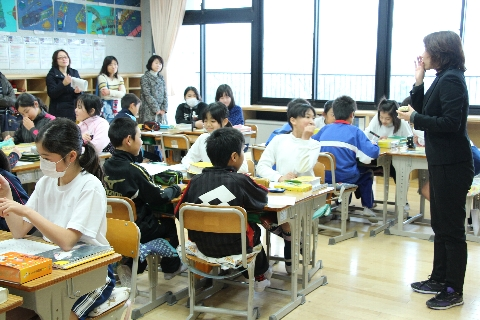 2015 02 授業参観5年生