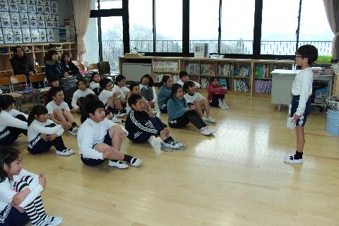 2015 02 授業参観4年生