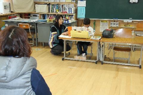 2015 02 授業参観たんぽぽ