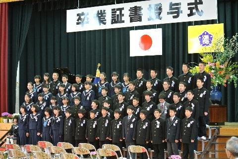 H27 03 卒業式2