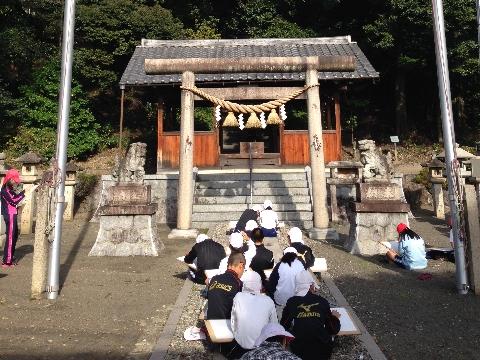H27 1124 神明神社図工