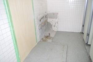 北舎1階中央トイレ改修 (2)