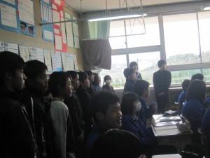 中学校半日入学 006