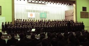 HP用1年合唱祭